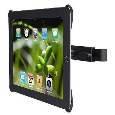 Newstar houder: iPad2 Car Headrest Mount - Black - Zwart