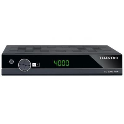 Telestar ontvanger: TD 2300 HD+ - Zwart