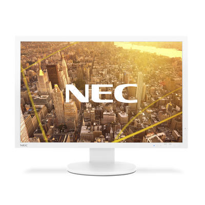 NEC MultiSync PA243W Monitor - Wit