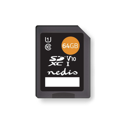 Nedis MSDC64100BK Flashgeheugen - Zwart