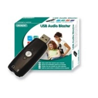 Eminent EM3751 USB Audio Blaster Interfaceadapter - Zwart