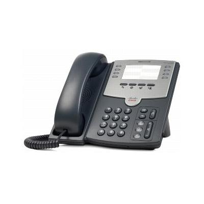 Cisco dect telefoon: SPA 501G - Zwart