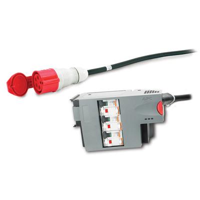APC 3 Pole 5 Wire RCD 32A 30mA IEC309 Energiedistributie