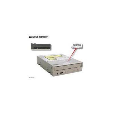 HP DRV,DVD,8X,TRAY,OPAL Opslag
