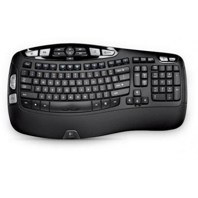 Logitech toetsenbord: K350 - Zwart, QWERTZ