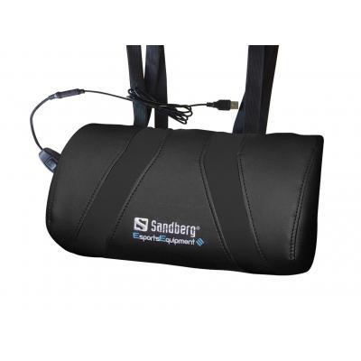 Sandberg : USB Massage Pillow - Zwart