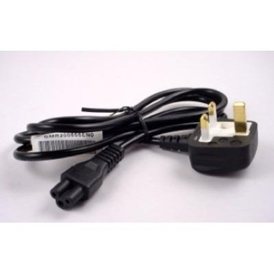 Toshiba 3-Pin Power Cord UK 2m - Zwart