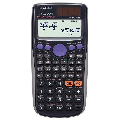 Casio calculator: FX-87DE Plus - Zwart