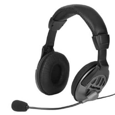 Hama CS-408 Headset - Zwart