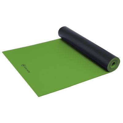 Gaiam fitness, gymnastiek & gewichtstraining: Athletic Fitness- / Yogamat - 5 mm - Groen