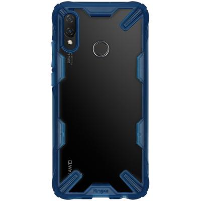 Ringke Fusion X Backcover Huawei P Smart (2019) - Blauw - Blauw / Blue Mobile phone case
