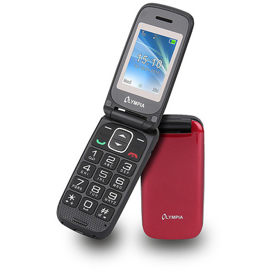 Olympia Classic Mini II Mobiele telefoon - Rood