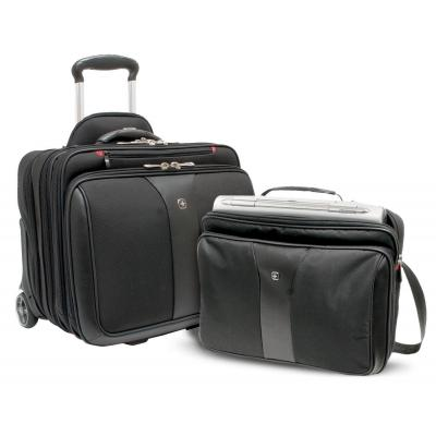 "Wenger/swissgear laptoptas: PATRIOT 43.18 cm (17"") 2-Piece Business Set with Telescopic Trolley Handle, Overnight ....."
