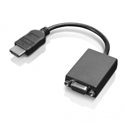 Lenovo HDMI / VGA - Zwart