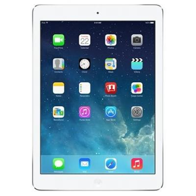 Apple tablet: iPad iPad Air Wi-Fi Cell 32GB Silver - Refurbished - Zichtbare gebruikssporen  - Zilver (Approved .....