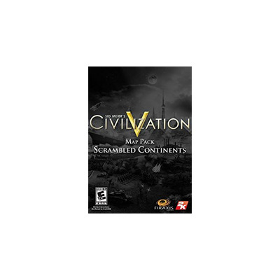 2k : Sid Meier's Civilization V: Scrambled Continents Map Pack