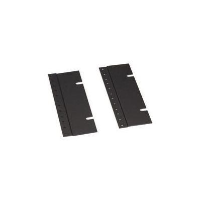 """Black Box 23""""-to-19"""" Rackmount Adapters, 4U Rack toebehoren - Zwart"""
