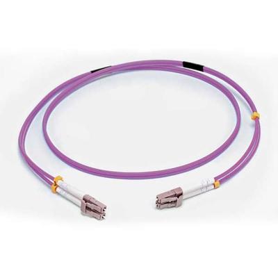 C2G 5M LC/LC OM4 LSZH FIBRE PATCH - VIOLET Fiber optic kabel