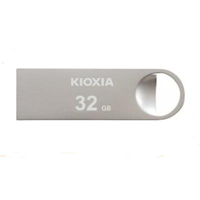 Kioxia TransMemory U401 USB flash drive - Zilver