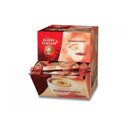 Douwe egberts drank: Koffie DE cafe cappuccino 12,5g/doos 80