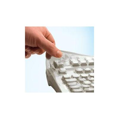 Cherry toetsenbord accessoire: Flexible protective film for G84-4100 - Transparant