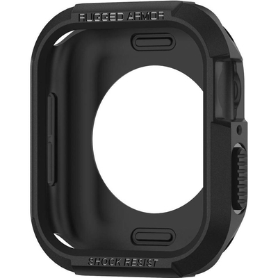 Spigen Apple Watch Series 4 (44mm) Case Rugged Armor - Zwart