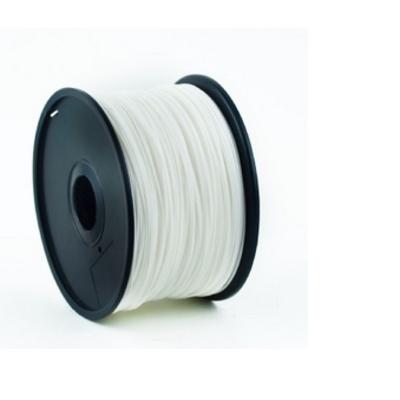 Gembird PLA plastic filament voor 3D printers, 1.75 mm diameter, wit 3D printing material