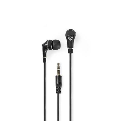 Nedis HPWD1002BK Headset - Zwart, Zilver