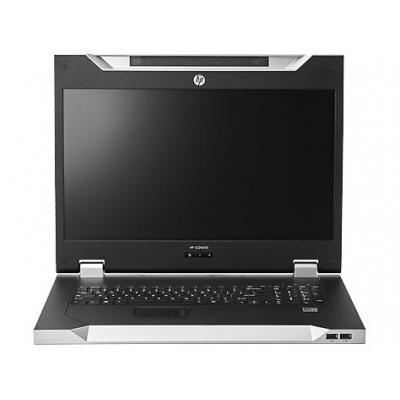 Hewlett packard enterprise rack console: LCD8500 1U FR Rackmount Console Kit - Zilver, AZERTY