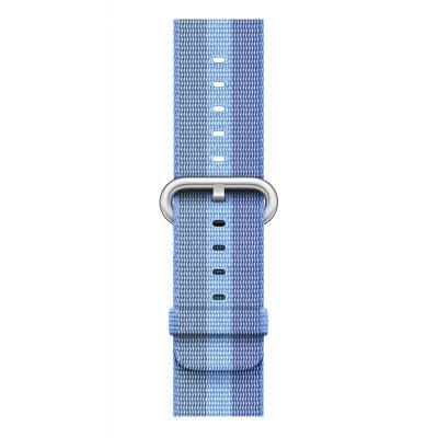 Apple : Bandje van geweven nylon - Tahoe-blauw (38 mm)