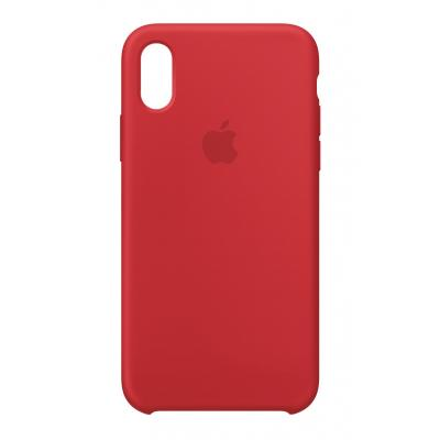 Apple mobile phone case: Siliconenhoesje voor iPhone X - (PRODUCT)RED - Rood
