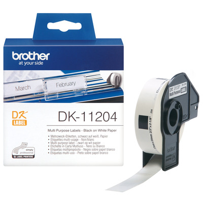 Brother DK-11204 labelprinter tape