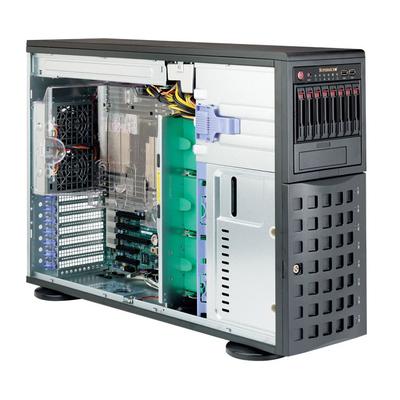 Supermicro SuperServer 7048R-C1R Server barebone - Zwart