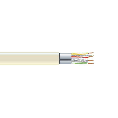Black Box Extended-Distance Data Cable, Office Environment, PVC Jacket, 4 Conductors (2 Pairs), 500-ft. .....