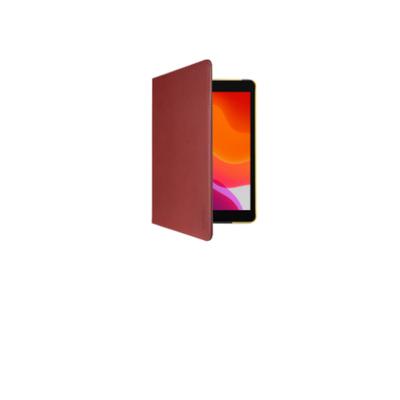 Gecko Apple iPad 10.2 inch (2019) Easy-Click Cover - Bruin/Geel Tablet case