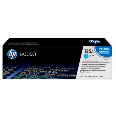 Hp toner: 125A cyaan LaserJet tonercartridge