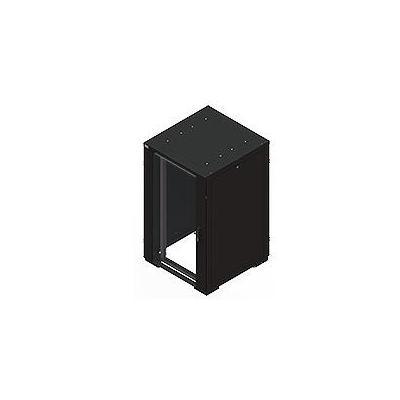 Eaton rack: RE Series IT Rack: 27U x 800mmW x 800mmD. Glazed Doors with sides - Zwart
