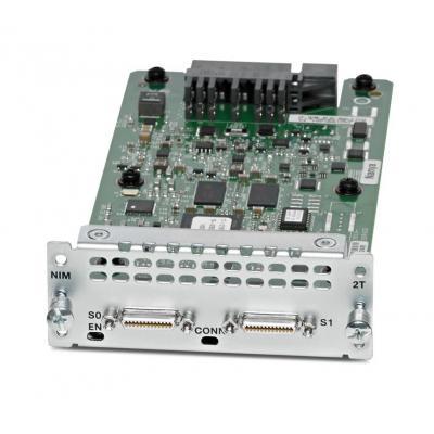 Cisco netwerk switch module: NIM-2T