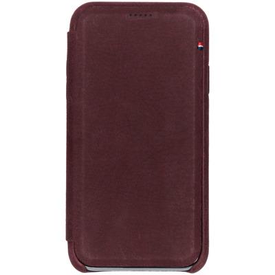 Leather Slim Wallet iPhone Xr - Paars - Paars / Purple Mobile phone case
