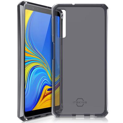 ITSKINS Spectrum Backcover Samsung Galaxy A7 (2018) - Zwart - Zwart / Black Mobile phone case