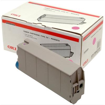OKI cartridge: Magenta Toner Cartridge C7100/C7300/C7500