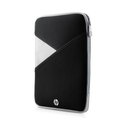 Hp tablet case: 25,4-cm (10-inch) tablethoes met rits - Zwart, Grijs