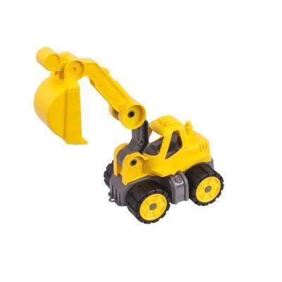 Big toy vehicle: Power Worker Mini Bagger - Geel