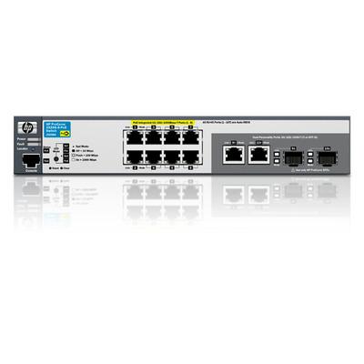 HP ProCurve 2520-8G-PoE switch - Zwart
