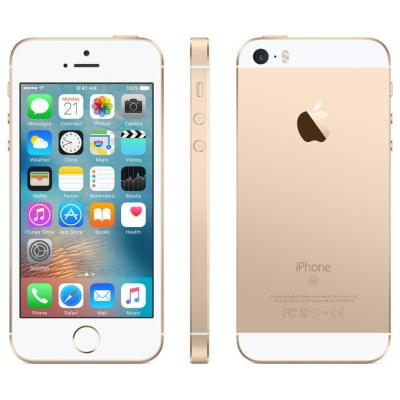 Apple smartphone: iPhone SE 64GB Gold - Goud, Wit (Approved Selection Budget Refurbished)