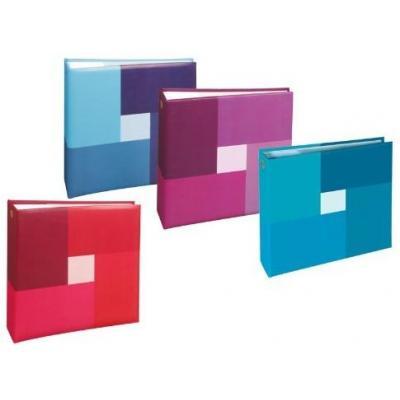 Henzo album: Nexus Memo, 200 photos, 11 x 15cm, assorted colors - Multi kleuren