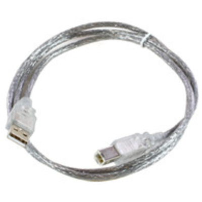 Microconnect USBAB2T USB kabel - Transparant