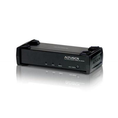 Aten console extender: USB Console Module & 1 Local PC console (KM0432 & KM0216) - Zwart