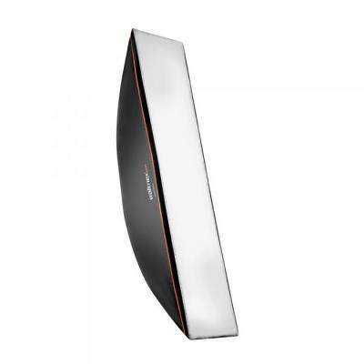 Walimex softbox: pro Softbox OL 22x90cm pro & K - Zwart, Wit
