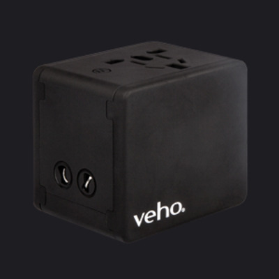 Veho VAA-200-TA1 Oplader - Zwart